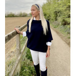 Mila Long Sleeve Jumper Navy