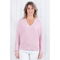Peppa Fine Ribbed Jumper Pink