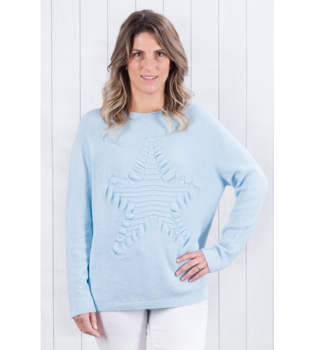 Bella Star Jumper Sky Blue