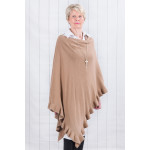 Willow Multiway Poncho Caramel