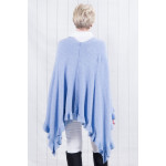 Willow Multiway Poncho Blue